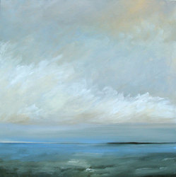 "Light and Sea 30"" x 30""  (sold)"