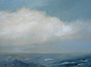 "Windy Sea 40"" x 30"""