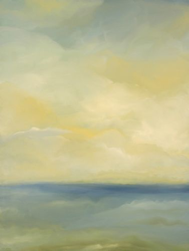"Fog on Horizon 36"" x 48"" -"