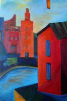 "Going Home 24"" x 36"" (sold) -"