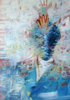 At One with Jazz 29.5x42.5 (sold) -