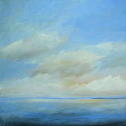 "Blue Dawn 30"" x 30"" (sold)"