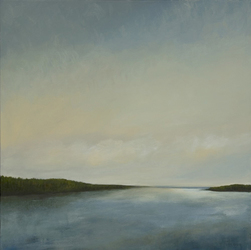 "Morgan Bay 30"" x 30"" (sold)"