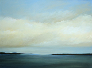 "Blue Hill Bay 40"" x 30"" (sold)"