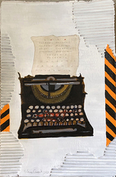 Pandemic Art: Typewriter Alert